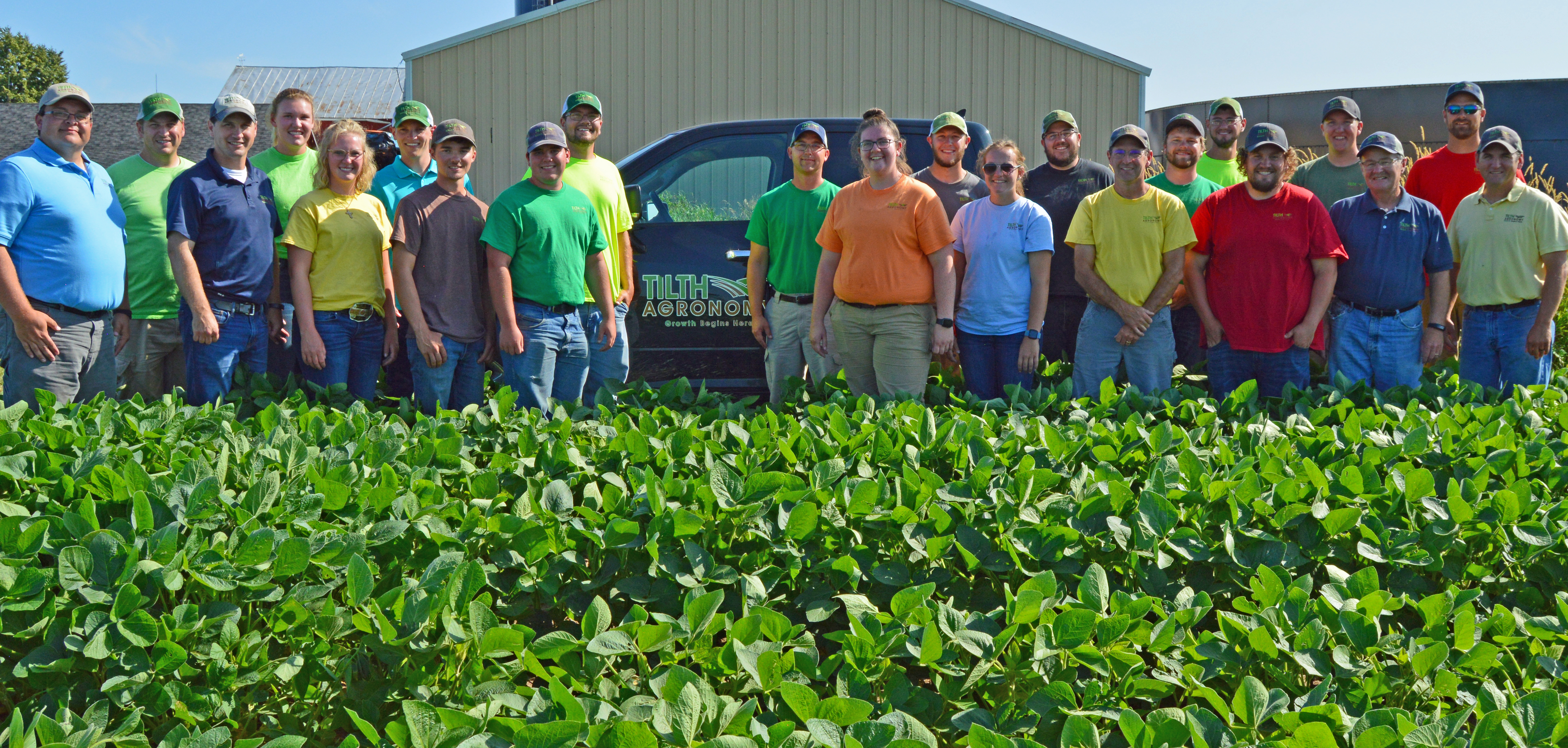 Tilth Agronomy Group Photo